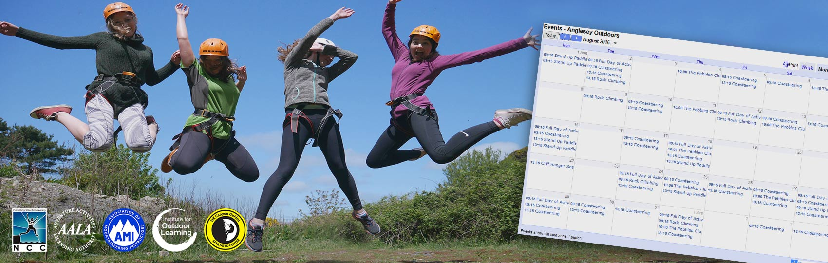 Booking planners and pricing for activities with Anglesey Outdoors